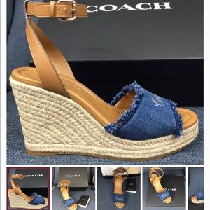 Coach wedge shoes New, new, new
